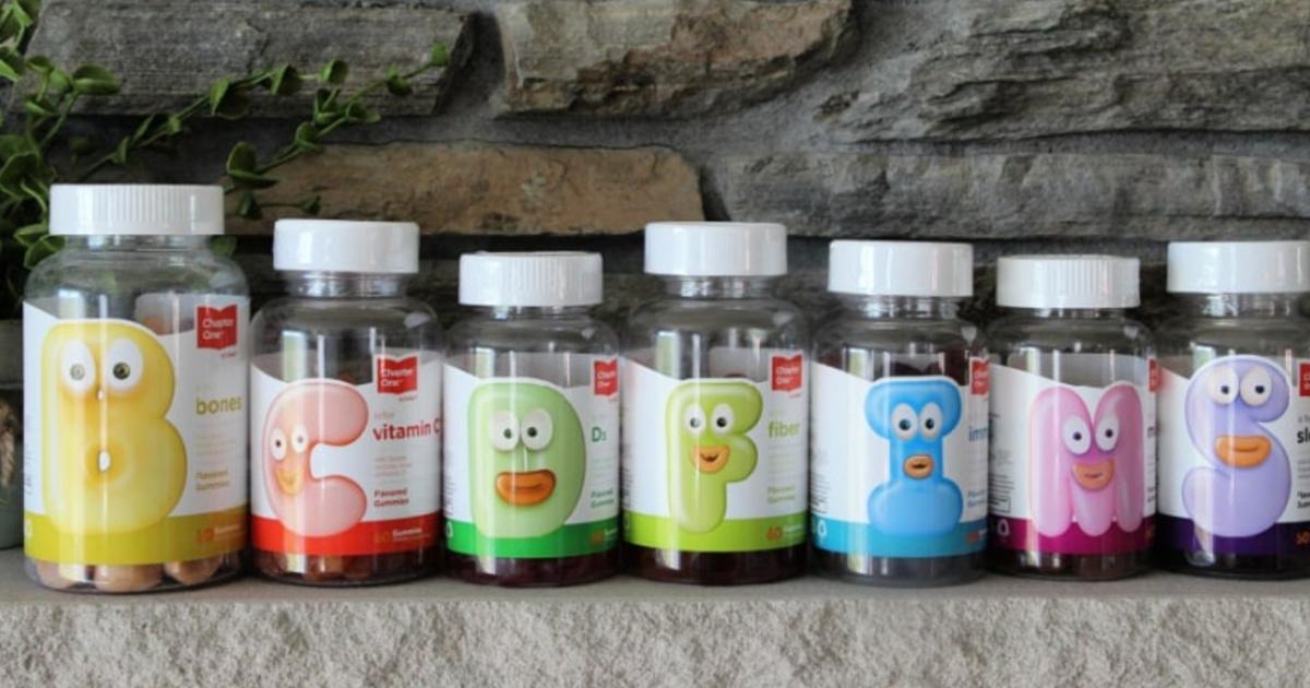 various types of vitamin gummies