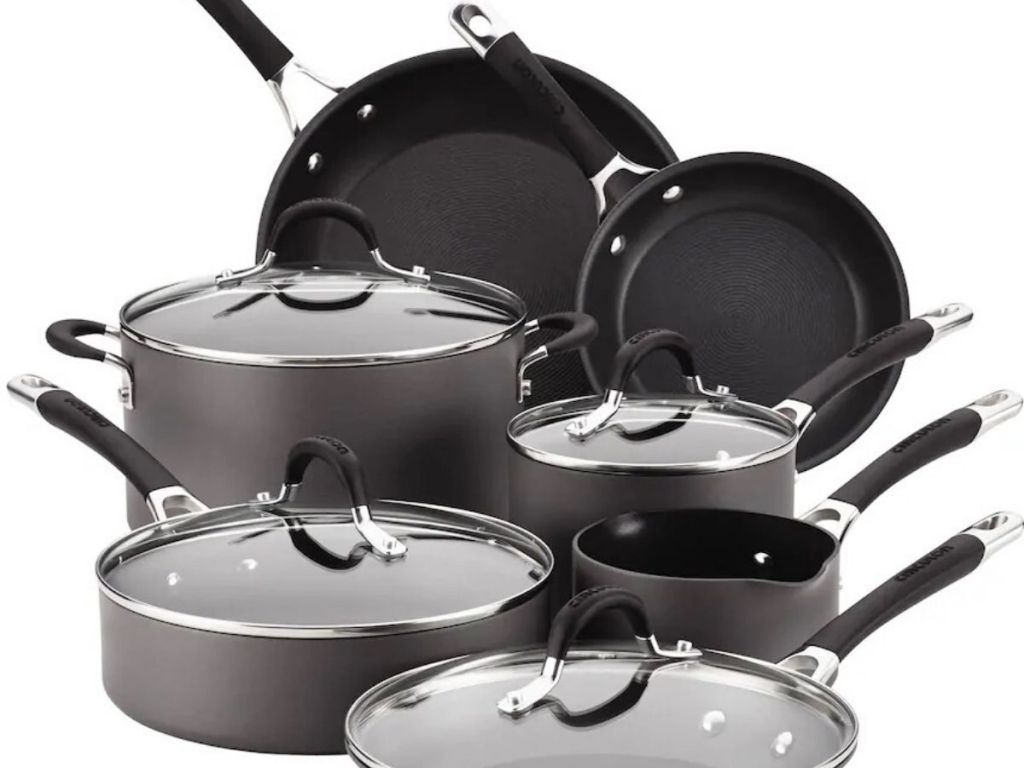 11 piece cookware set
