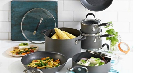 Circulon Momentum 11-Piece Cookware Set Only $82.99 Shipped After Rebate (Regularly $220) + Earn $20 Kohl's Cash
