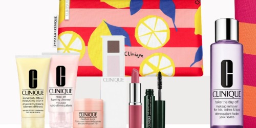$315 Worth of Clinique Cosmetics & Accessories Only $85 Shipped