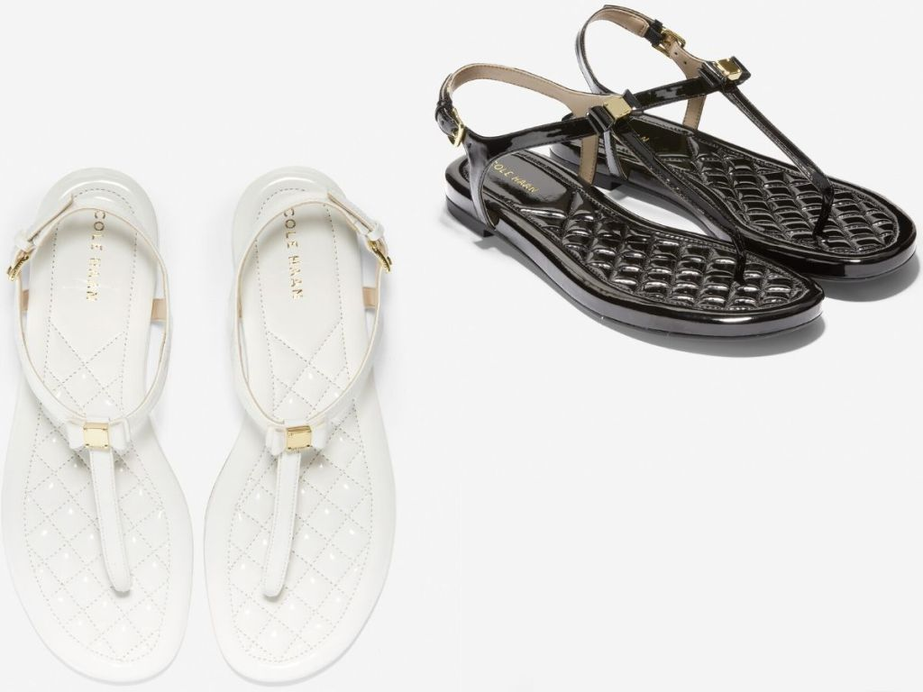Cole Haan Strappy Bow Sandals