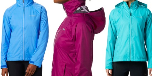 This Columbia Women's Waterproof Jacket Has 500 5-Star Reviews & Is Only $19.98 Shipped (Regularly $60)