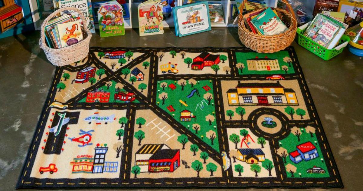 Concord Global City Rug in kids playroom