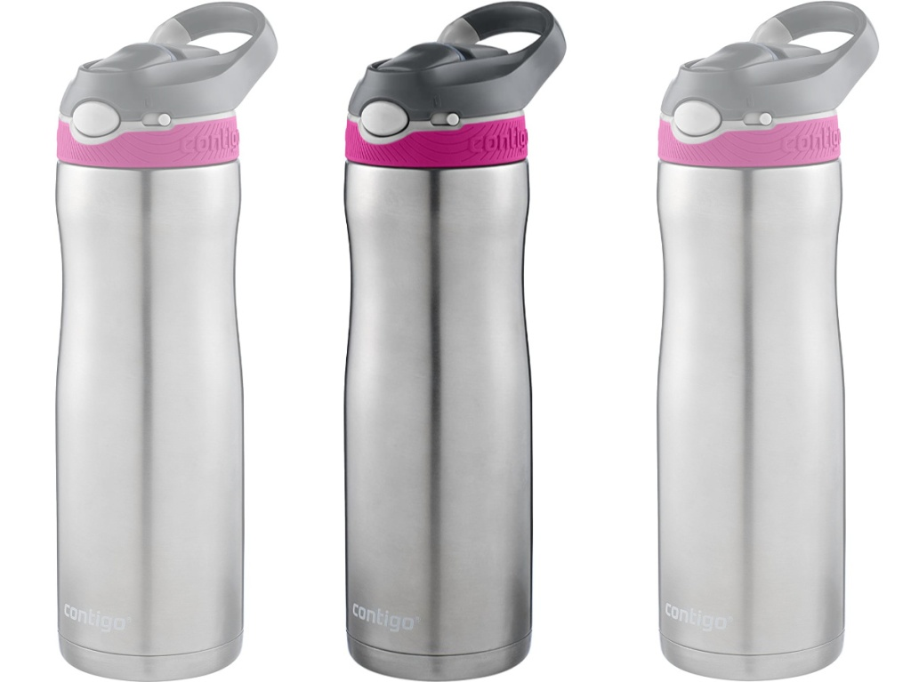 Contigo Autospout Water Bottle in Very Berry Color