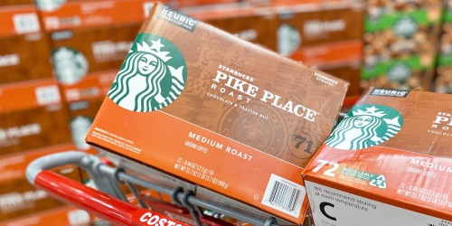 Starbucks 72-Count K-Cups Only $29.99 at Costco (Just 42¢ Each)