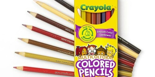 Crayola Multicultural Colored Pencils 8-Count Only $2.38 on Amazon (Regularly $5)