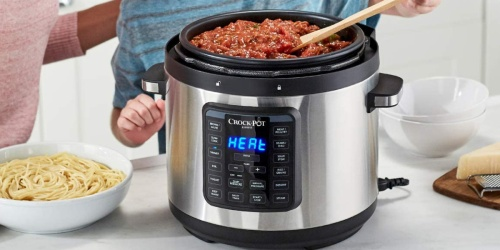 Crock-Pot Multi-Cooker Only $39.99 Shipped on BestBuy.com (Regularly $110) | Pressure Cook, Sauté & More