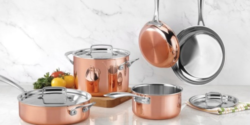 Cuisinart Copper 11-Piece Cookware Set Only $199 Shipped (Regularly $430)