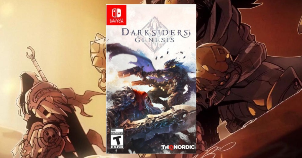 Darksiders: Genesis Nintendo Switch Game with game background