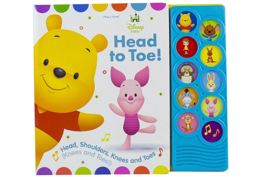 disney baby winnie the pooh head to toe sound book