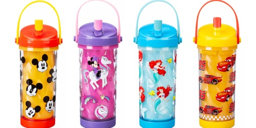 Disney Color Changing Drink Bottles w/ Flip Straw Only $7 Shipped (Regularly $13)