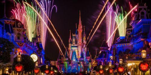 Stream Disney's Mickey's Not-So-Spooky Halloween Party Fireworks Spectacular Now