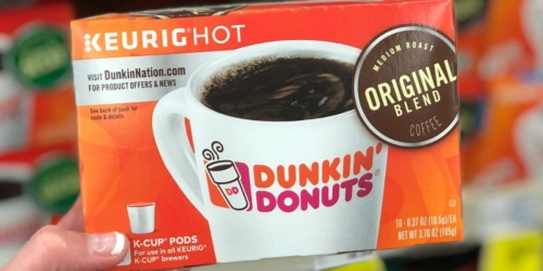 Over $77 Worth of Dunkin' Donuts K-Cups Just $47.98 Shipped on Staples.com