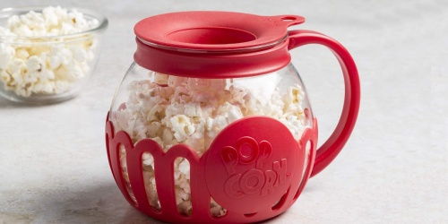 Ecolution 1.5-Quart Microwave Popcorn Popper Only $8.88 on Amazon (Regularly $15)