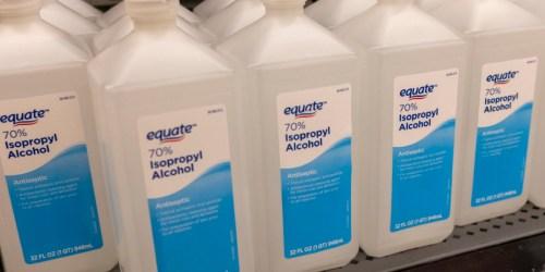 Equate Isopropyl Alcohol 32oz Bottle 2-Pack Only $3.92 on Walmart.com