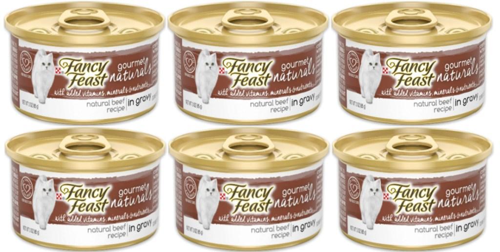 Fancy Feast Beef in Gravy 12-Pack Canned Wet Cat Food