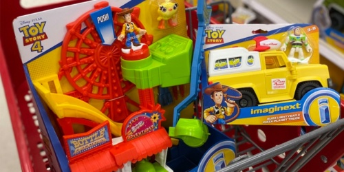 Fisher-Price Imaginext Disney Pixar Toy Story 4 Carnival Playset Only $13 on Amazon (Regularly $30)