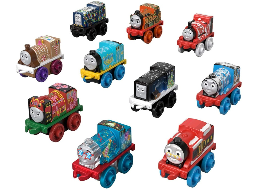 Thomas and friends trains minis