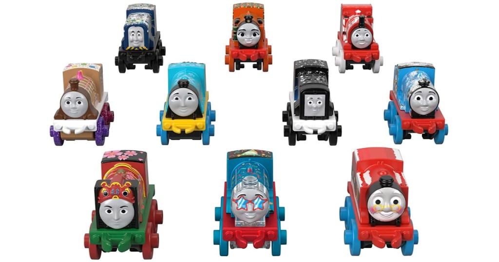 Thomas and friends train minis