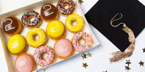 Celebrate Your Graduate with Krispy Kreme Doughnuts | Last Day