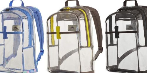2 High Sierra Clear Classic Backpacks Only $14.40 on Kohls.com – Just $7.20 Each (Regularly $70)