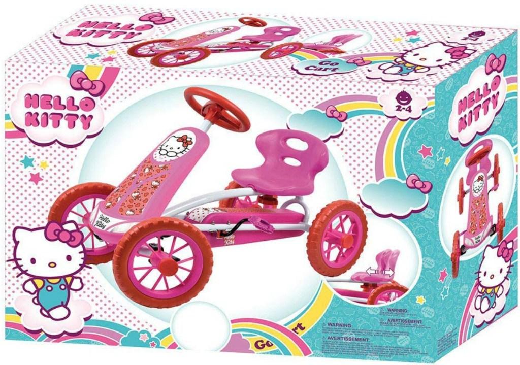 Hello Kitty Go Kart