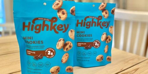 HighKey Mini Cookies Only 99¢ at Target (Regularly $4) | Keto-Friendly
