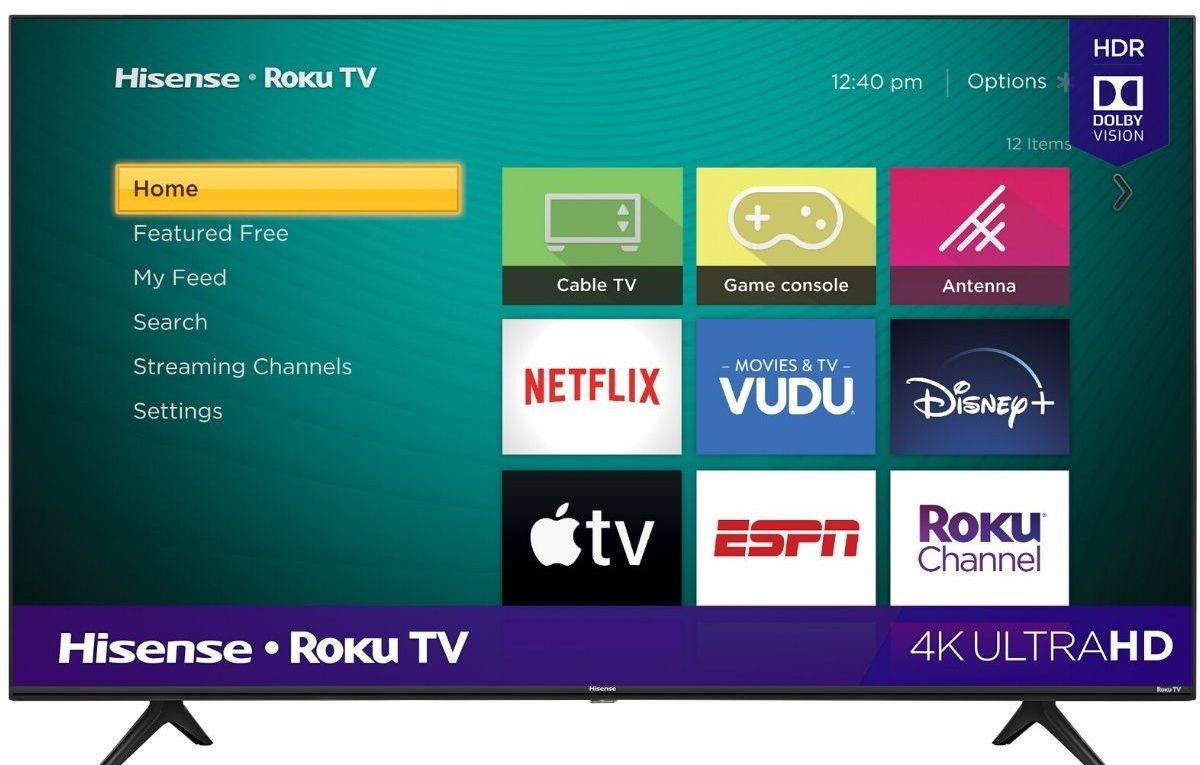 big screen smart TV