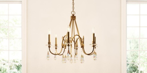 Big Savings on Pendants, Chandeliers, & More on HomeDepot.com