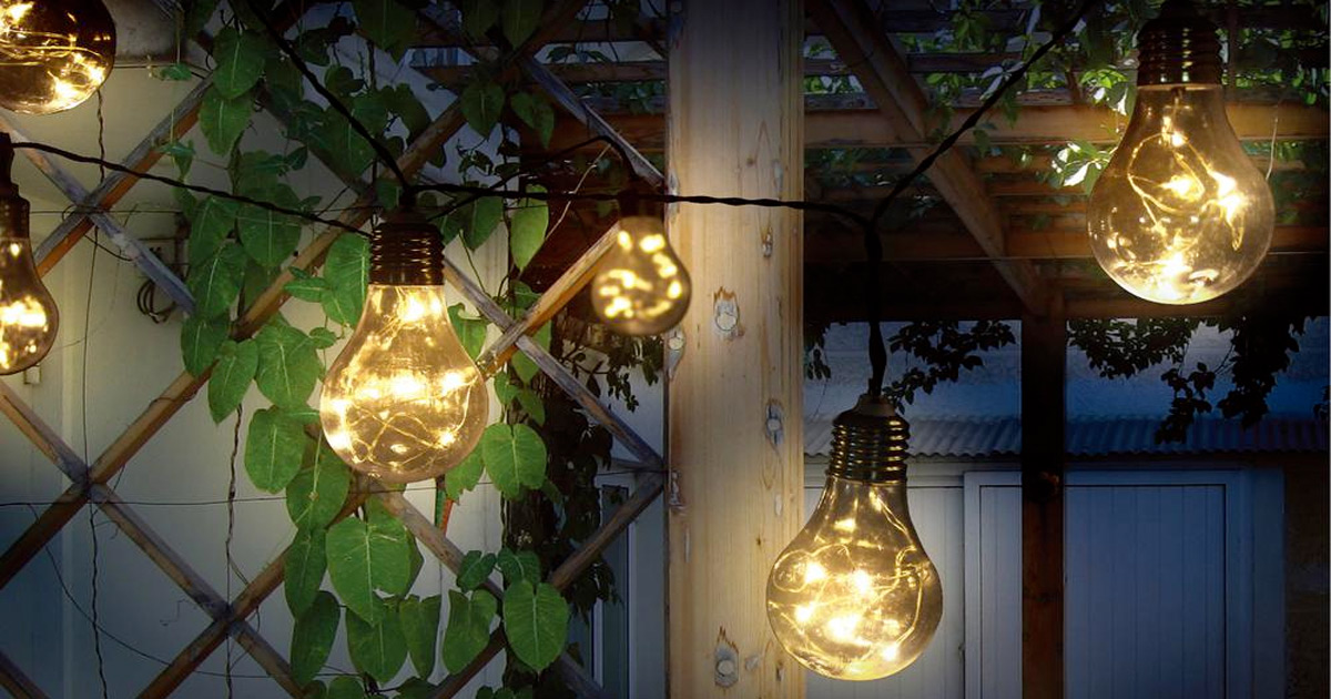 Outdoor Led String Lights Only 19 90 On Home Depot Hip2save