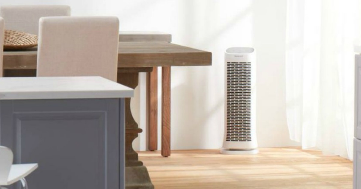 Honeywell Air Purifier in living area