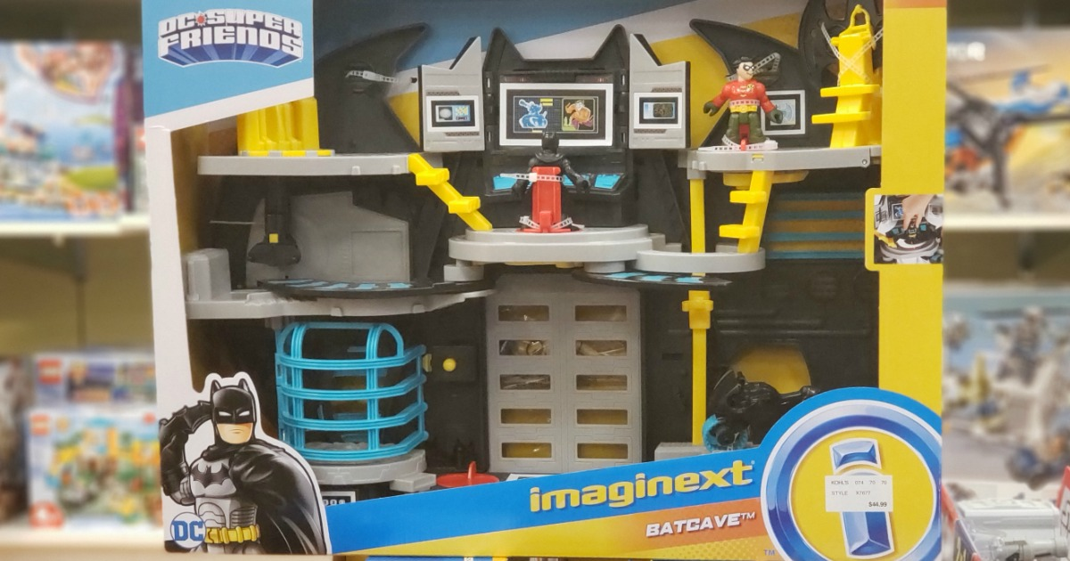 Batcave toy in a box