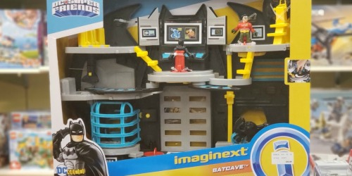 Fisher-Price Imaginext Batcave Only $22 (Regularly $45) + Free Shipping for Kohl's Cardholders