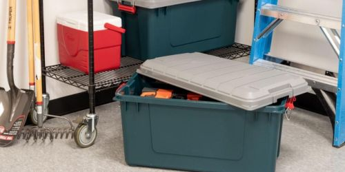 Great Buys on Storage Containers at The Home Depot + Free Shipping
