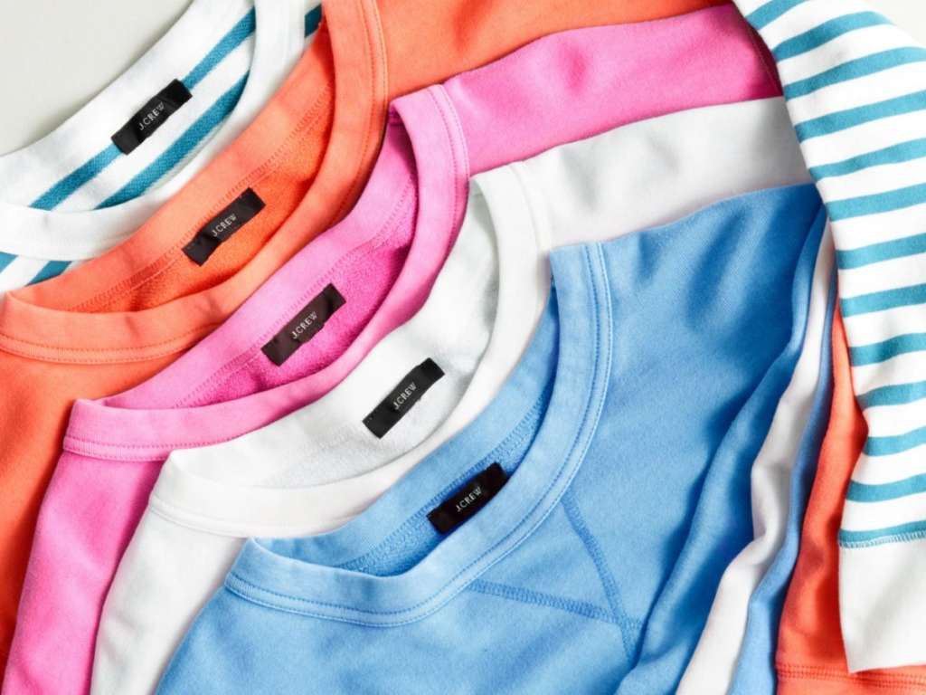 J Crew Sweatshirts in different colors