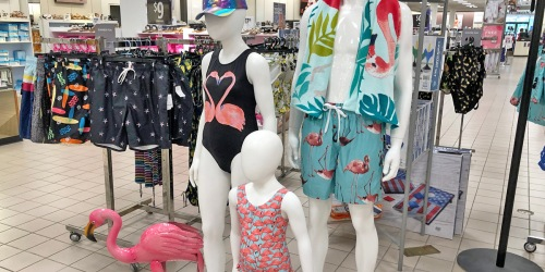 Swimwear For The Family as Low as $10.49 on JCPenney.com (Regularly up to $29)