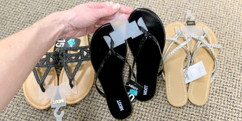 Women's Sandals & Flip-Flops from $3.50 on JCPenney.com (Regularly $60)