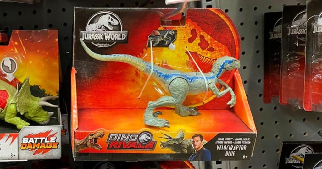 Jurassic World Blue Dino Rivals