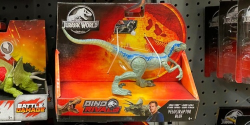 Jurassic World Dino Rivals Action Figures from $6.88 (Regularly $9.99)