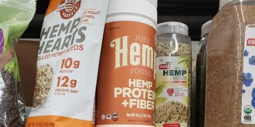 Hemp Protein & Fiber Powder 16oz Canister Just $1.94 Shipped on Amazon