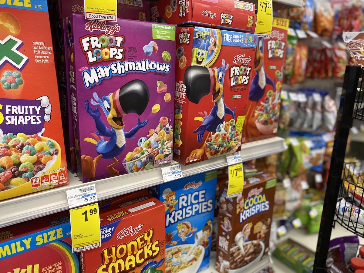 Kellogg's Cereal at CVS
