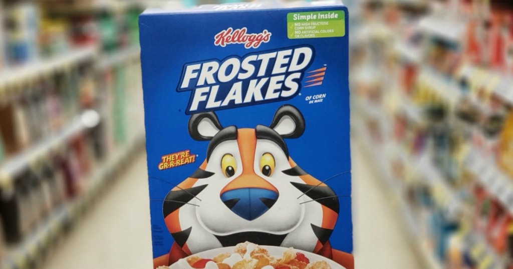 box of Frosted Flakes