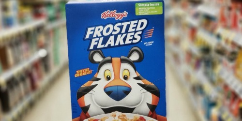 Kellogg's Frosted Flakes from 89¢ Per Box After Cash Back at CVS
