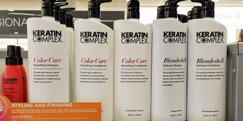 50% Off Keratin Complex Hair Care Products on Ulta.com