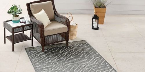 Sonoma Goods For Life Indoor/Outdoor Area Rugs From $12 on Kohls.com (Regularly $80)