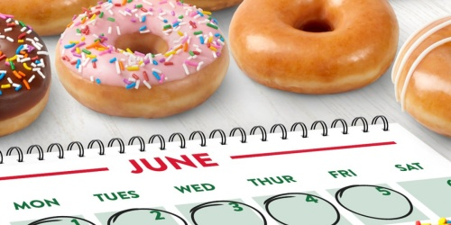 FREE Krispy Kreme Doughnut | No Purchase Necessary