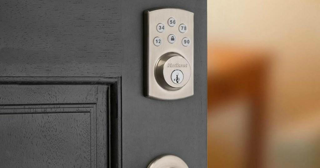 Kwikset Lock on a door