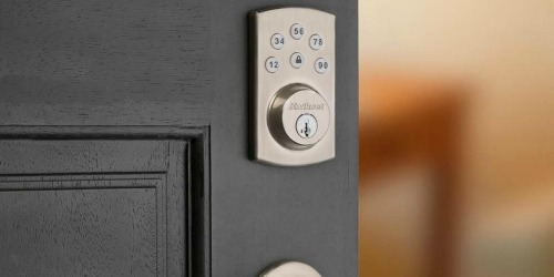 Kwikset Electronic Deadbolt w/ SmartKey Security Only $59 Shipped on HomeDepot.com