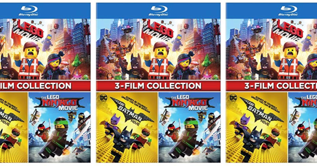 The Lego Movie 3 Film Collection Blu Ray Only 15 On Amazon Regularly 30