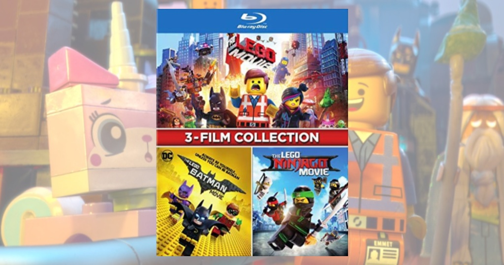 The Lego Movie 3 Film Collection Blu Ray Only 15 On Target Com Regularly 30 Hip2save